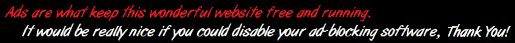 Please disable AdBlock on our website.